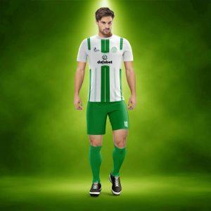 BVB Yeşil Dijital Halı Saha Forma