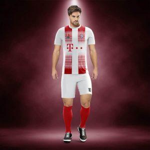 Bayern Munih Kırmızı Dijital Halı Saha Forma