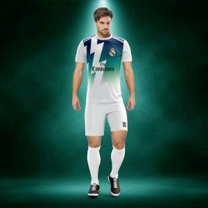 Real Madrid Dijital Halı Saha Forma